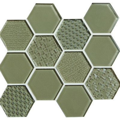 Ft Mosaic Vitra Art Fusion Ice Destin Elite Tile
