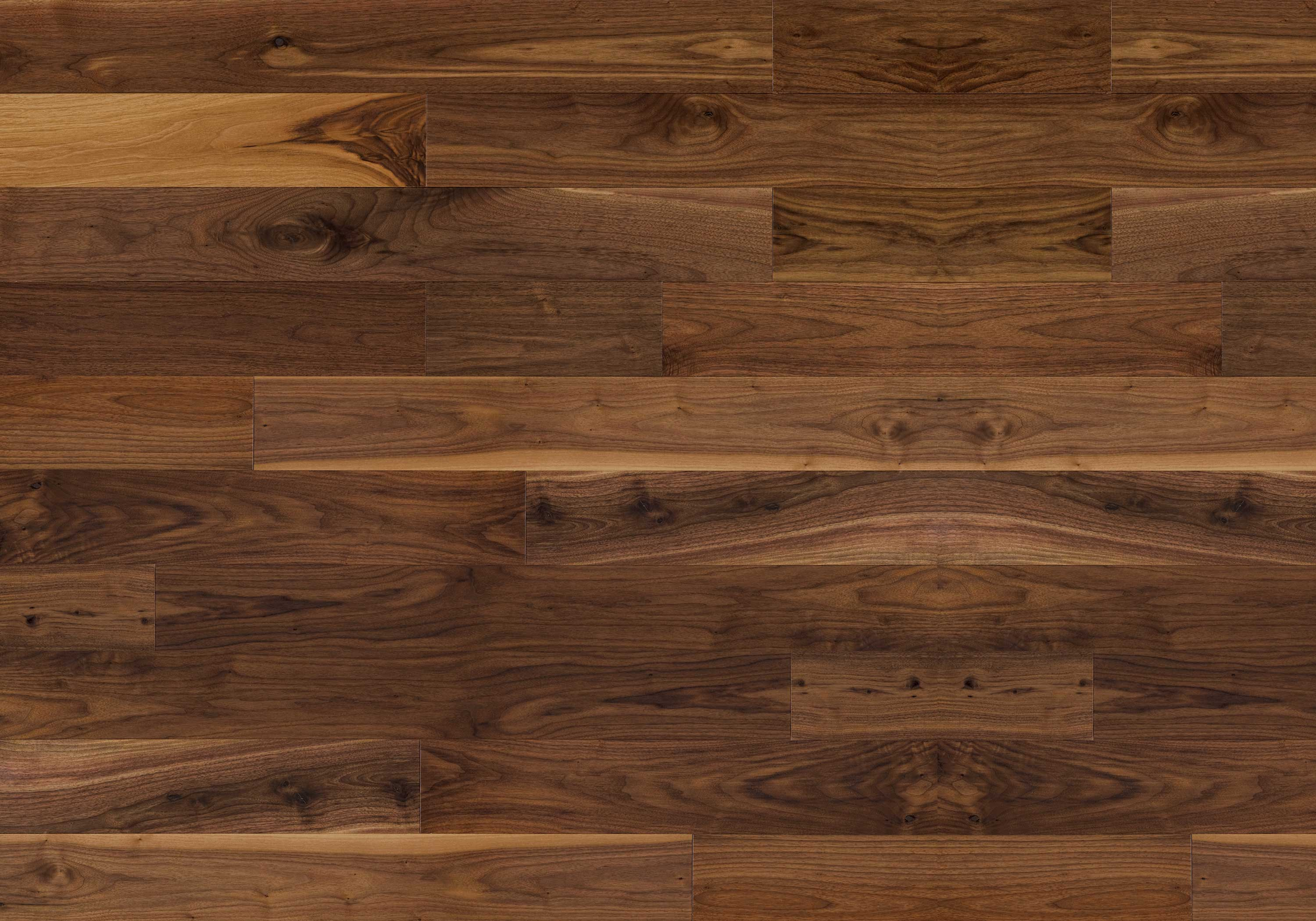 Black Walnut Hardwood Flooring Dark Brown Natural Exclusive