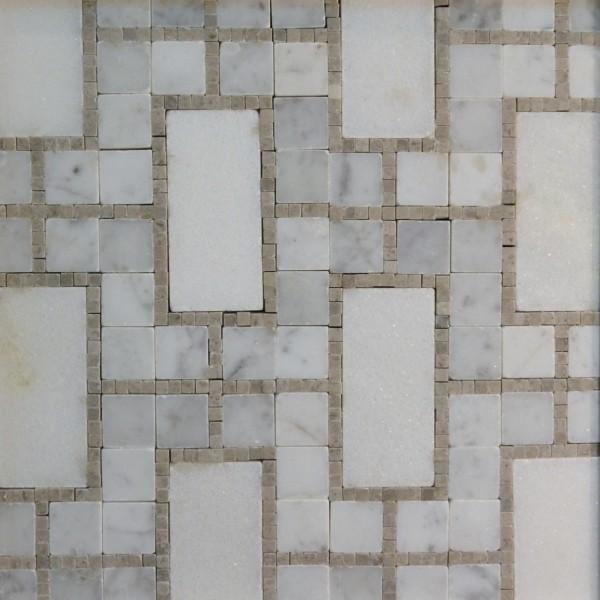 mosaic_tangier_h_carrara_spain_grey_white_marfil_marble